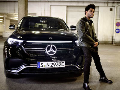 """Mercedes EQC - """"Blinding Lights"""" The weeknd"""